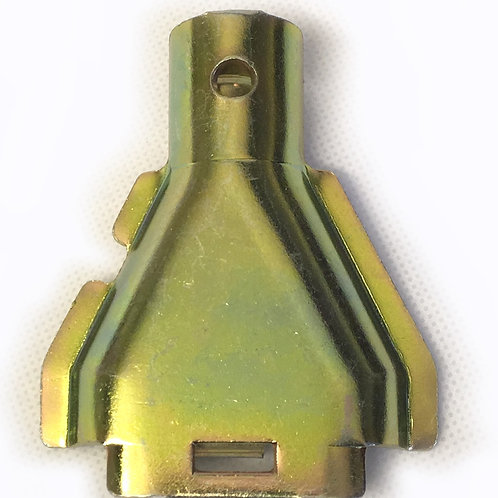 Cover funnel plate for Al-ko back plates