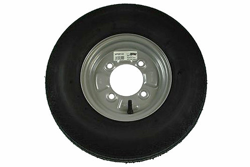 "4.80/4.00 x8"" Wheel and tyre. 115mm pcd"