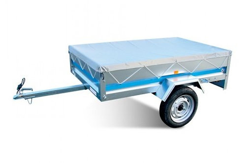 Flat trailer cover for MP6815 trailer