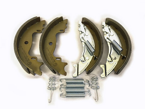 160mm x 35mm knott style brake shoe axle set