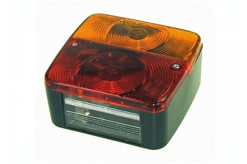 Radex Square Rear Lamp Unit
