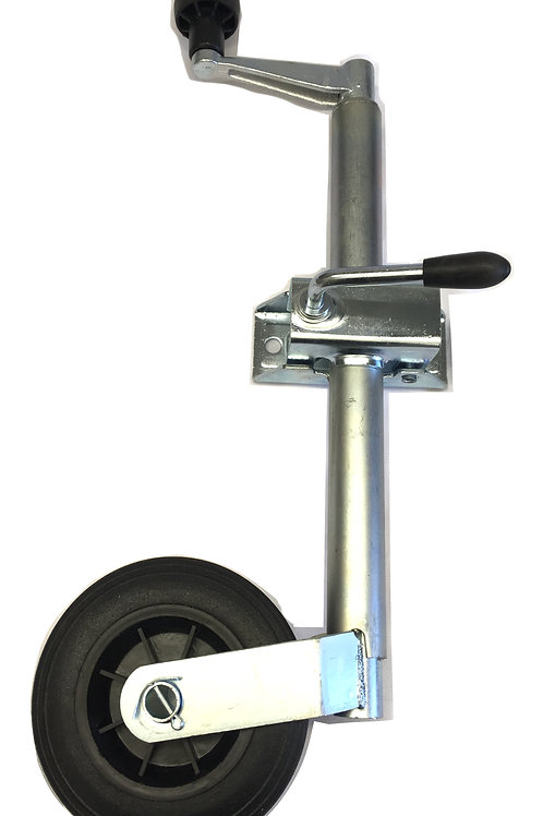 34mm light duty jockey wheel with clamp