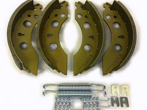 200mm x 50mm alko style brake shoe axle set