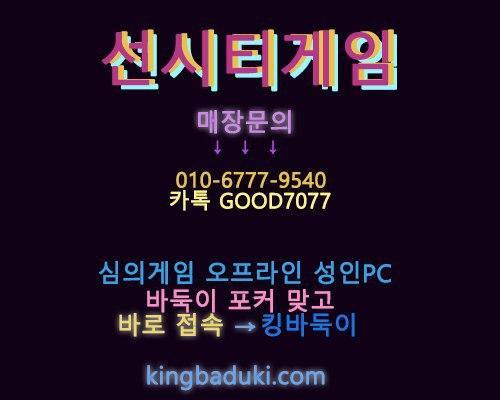 선시티게임 플레이 정보 공유 소개