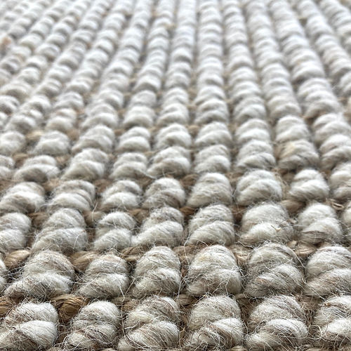 Orantan Wool & Jute Luxury Boucle weave