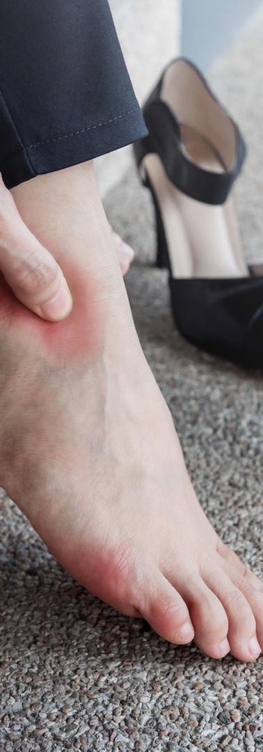Women's Foot Pain