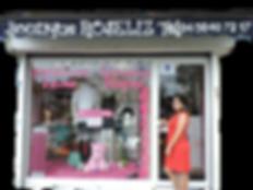 Facade de la boutique Roseliz
