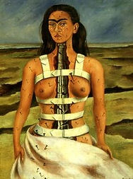 Frida Kahlo, the broken column.jpg