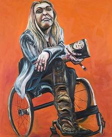 Tanya Raabe, A protrait of artist Sophie