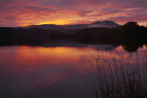 Autumn Sunset Loch Venachar