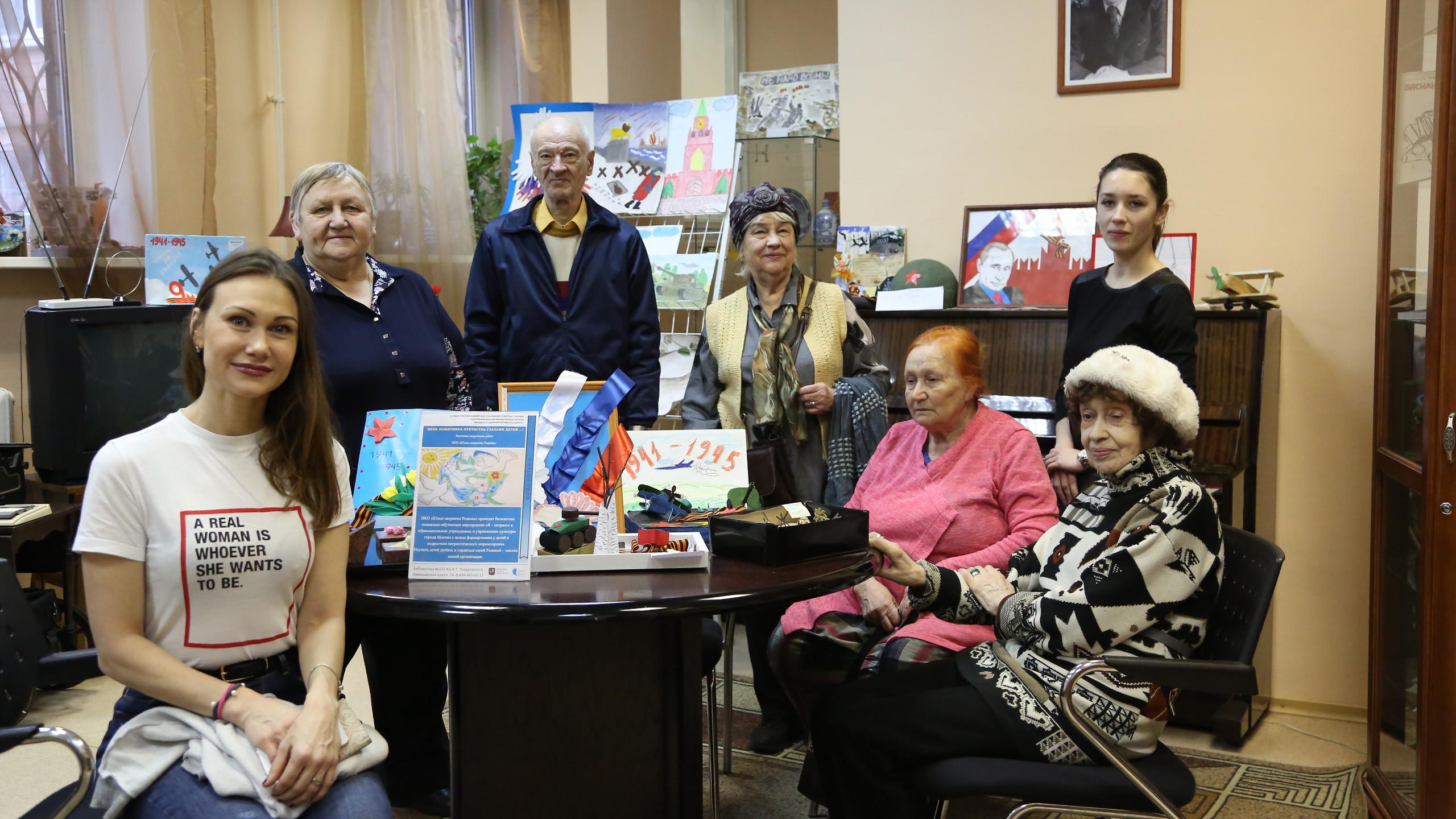 Гости Западного округа в культурном центре им. Твардовского