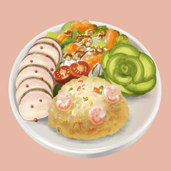 日替わりオートミールプレートOatmeal Special Platter