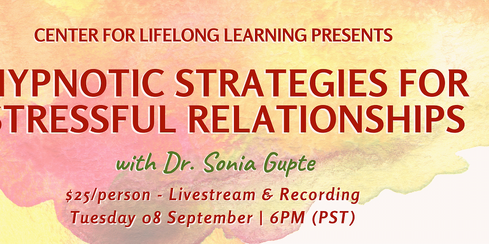 Hypnotic Strategies for Stressful Relationships