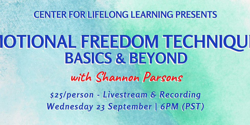 Emotional Freedom Techniques: Basics and Beyond