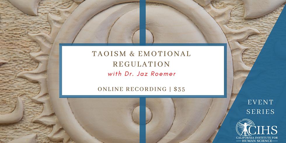 EVENT RECORDING: Taoism and Emotional Regulation