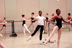 Ballet Barre work