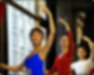 Barre work Ballet school