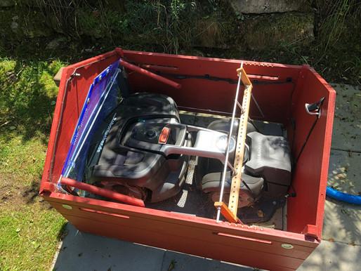 Rasen Mähroboter Garage für HUSQVARNA Automower 435X AWD