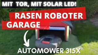 Garage für Automower Husqvarna 450X