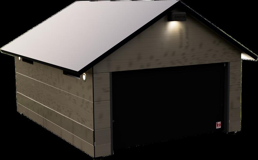 Mähroboter Garage mit Tor für HUSQVARNA Automower 435X AWD und 535X AWD