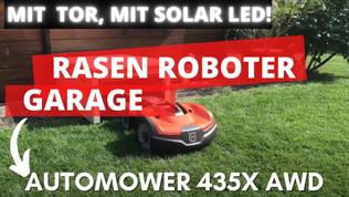Garage für Automower 435X AWD