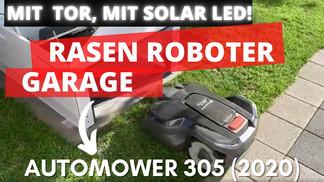 Rasenroboter Automower Garage