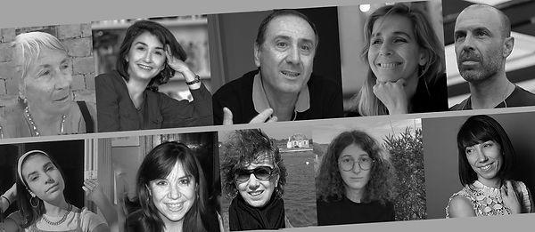 Le jury du concours de nouvelles organisé par AltaLeghje-Lire le monde en 2021