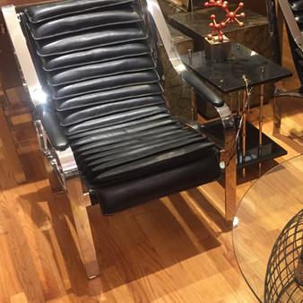 Baffle Club Chair