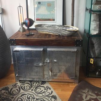 Vintage Ice Frig - chest