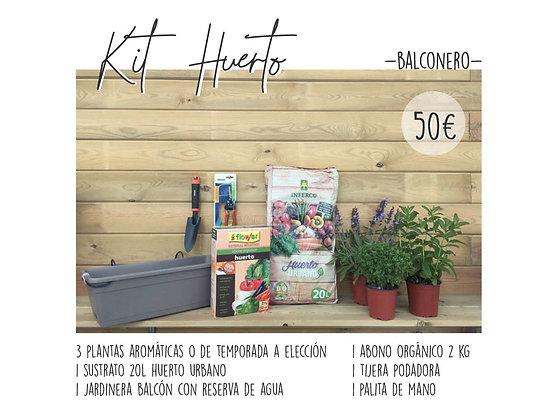 Kit Huerto Balcón
