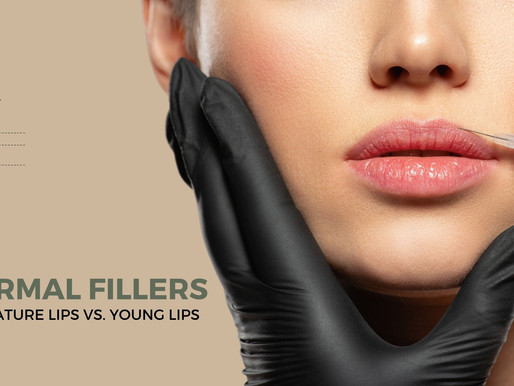 Dermal Fillers In Mature Lips Vs. Young Lips
