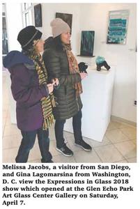2018 Glass Art Show Visitors