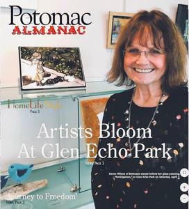 Karen Wilson - Potomac Almanac Cover