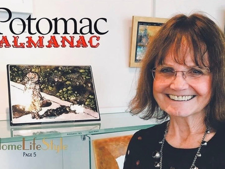 Potomac Almanac supports local glass artists