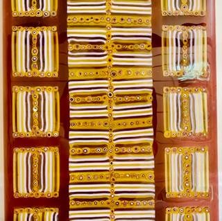 Yellow Emporer - Glass Frit Art.jpeg