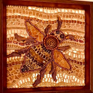 Bee Glass Art.JPG