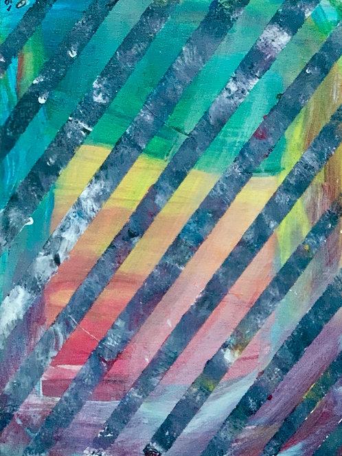 Societal Pride, 9x12 on canvas panel