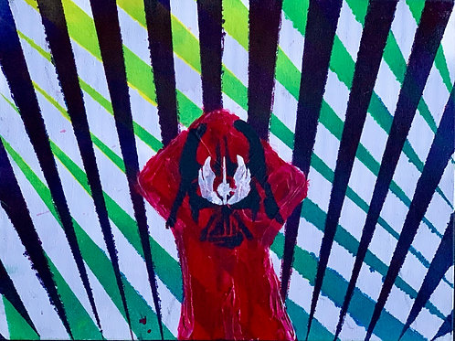 Join the Rebellion (Propaganda), 9x12 on canvas panel