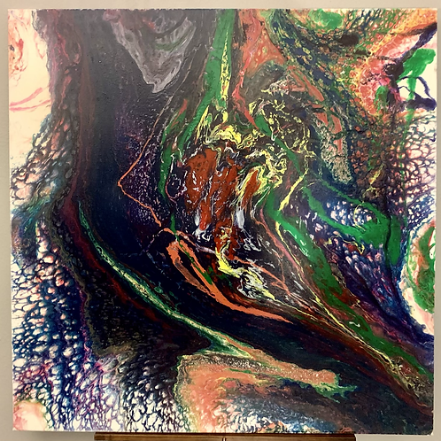 (Purchased) Empathy (Now in Technicolor), 36x36