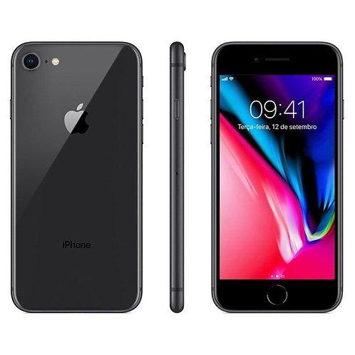 """iPhone 8 com Tela de 4,7"""", 4G,  Câmera de 12 MP"""