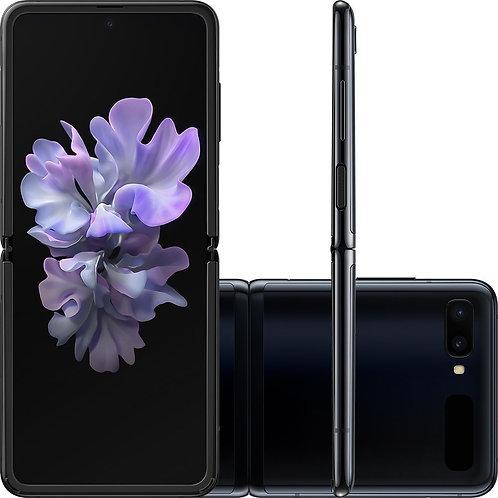 """Samsung Galaxy Z Flip Preto, Tela 6,7"""", 4G, 256GB e Câmera Dupla de 12MP + 13MP"""
