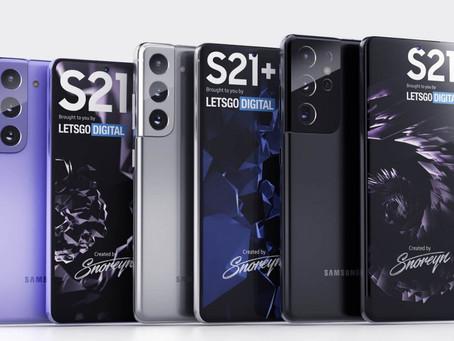 Família Galaxy S21 aparece em registro da ANATEL e pode chegar em Janeiro