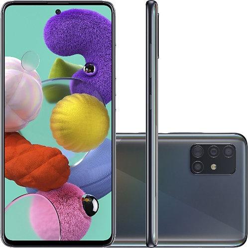"""Samsung Galaxy A51, com Tela Infinita de 6.5"""", 4G, 128GB e Câmera Quádrupla"""