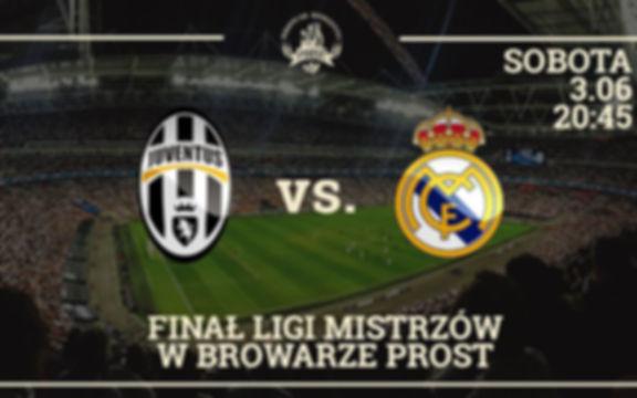 Final Ligi Mistrzów w Browarze Prost – transmisja meczu