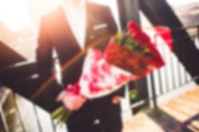 Czerwone róże na z okazji walentynek