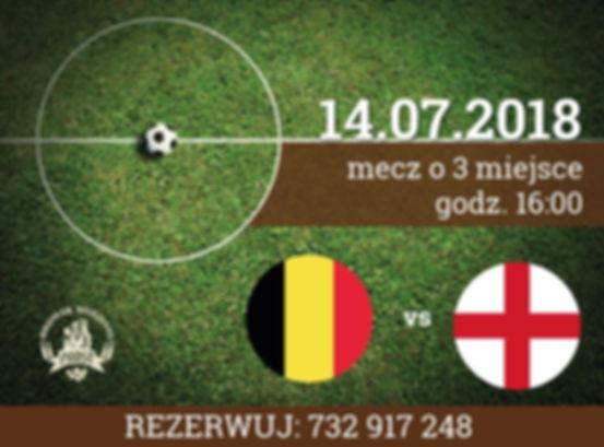 Belgia i Anglia walczą między sobą o trzecie miejsce – wpadnij i obejrzyj mecz na żywo!