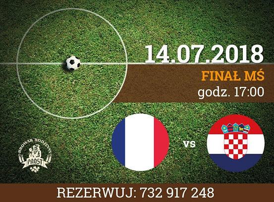 Francja vs Chorwacja walczą o pierwsze miejsce!