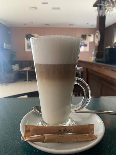 Pyszna kawka latte