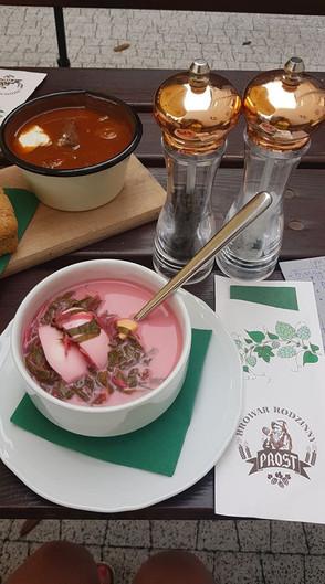Botwina i zupa gulaszowa
