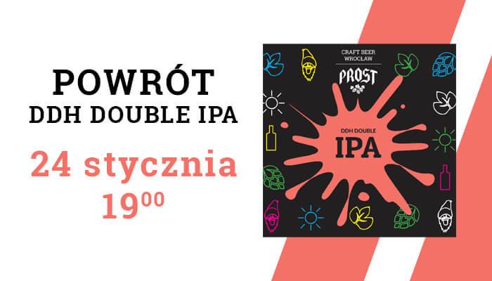 Wpadnij ze znajomymi na piwo i wypróbujcie wyjątkowy smak DDH Double IPA z darmowej beczki!